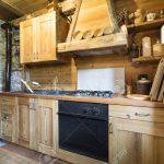 Holzküche Küche Wooden Kitchen In Rustic Style
