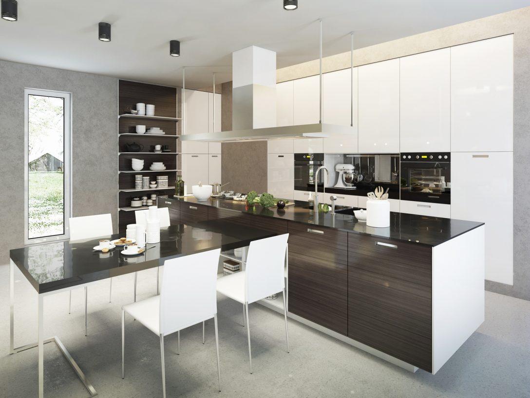Large Size of Kitchen Contemporary Style Küche Küche Finanzieren