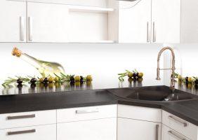 Rückwand Küche Glas