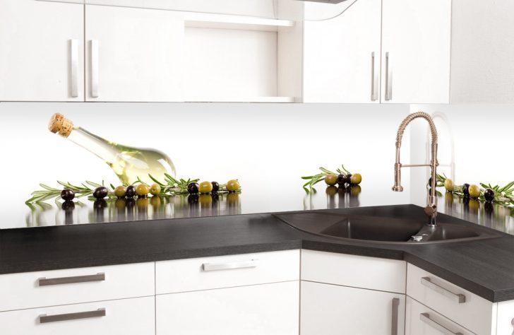 Medium Size of Rückwand Küche Glas L Und Oliven Als Kchenrckwand Industrie Mobile Wandtattoo Rollwagen Form Barhocker Waschbecken Erweitern Landküche Miele Küche Rückwand Küche Glas
