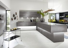 U Form Küche