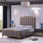 Best Promo E45f Rama Dymasty Genuine Leather Soft Bed Modern Bett 140x200 Mit Bettkasten Topper Breckle Betten Nussbaum 180x200 Amerikanisches Kopfteil Bette Bett Bett Modern Design