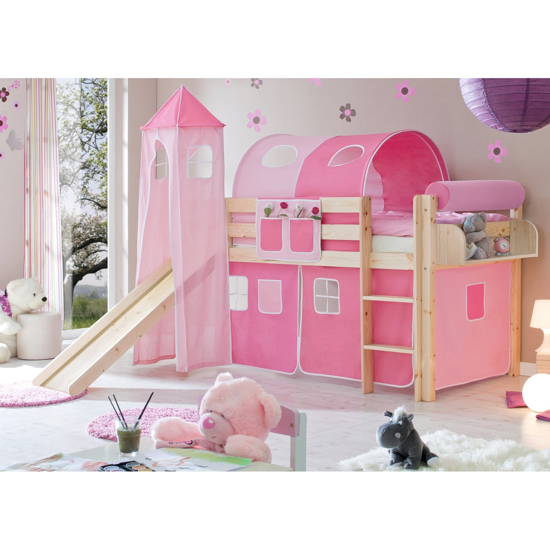 Full Size of Hochbett Mit Rutsche Und Turm Natur 90 Cm 200 Rosa Pink Spiegelschrank Bad Beleuchtung Stabiles Bett Betten 180x200 200x220 Günstige Metall München Bett Bett Mit Rutsche