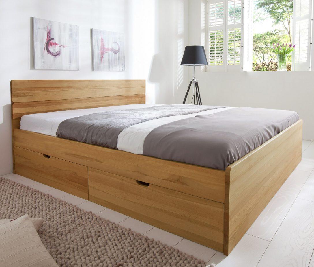 Large Size of Bett Mit Schubksten In Der Gre 180x200cm Finnland Bett Betten.de