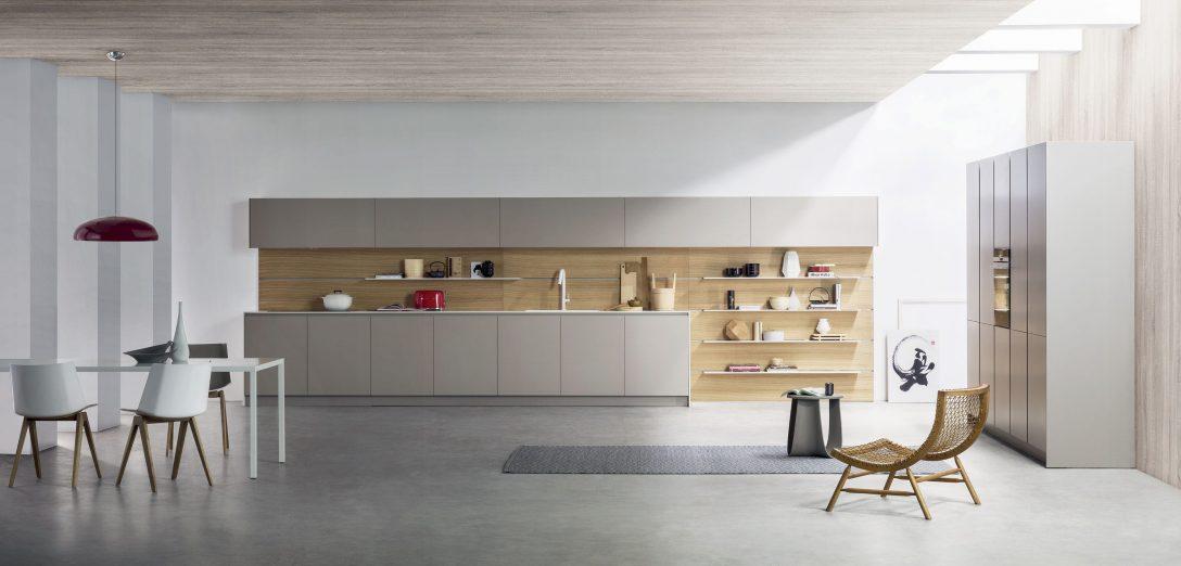 Large Size of Contemporary Kitchen / Stainless Steel / Laminate / Island Küche Laminat In Der Küche