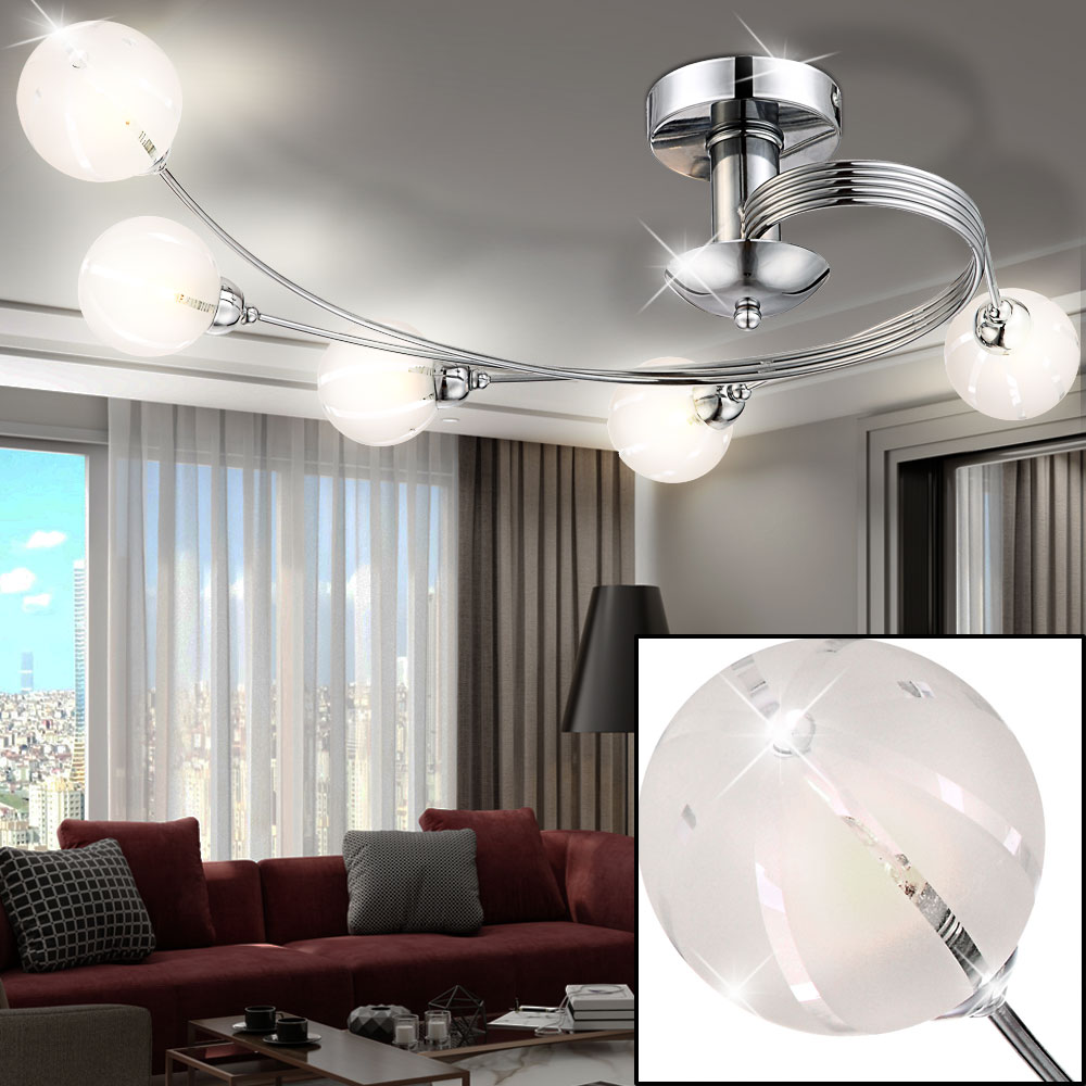 Lampe Wohnzimmer Decken Kugel Spot Strahler Leuchte Wohn Schlaf Wandbild Komplett Board Rollo Stehlampen Schrankwand Schlafzimmer Pendelleuchte Tapete