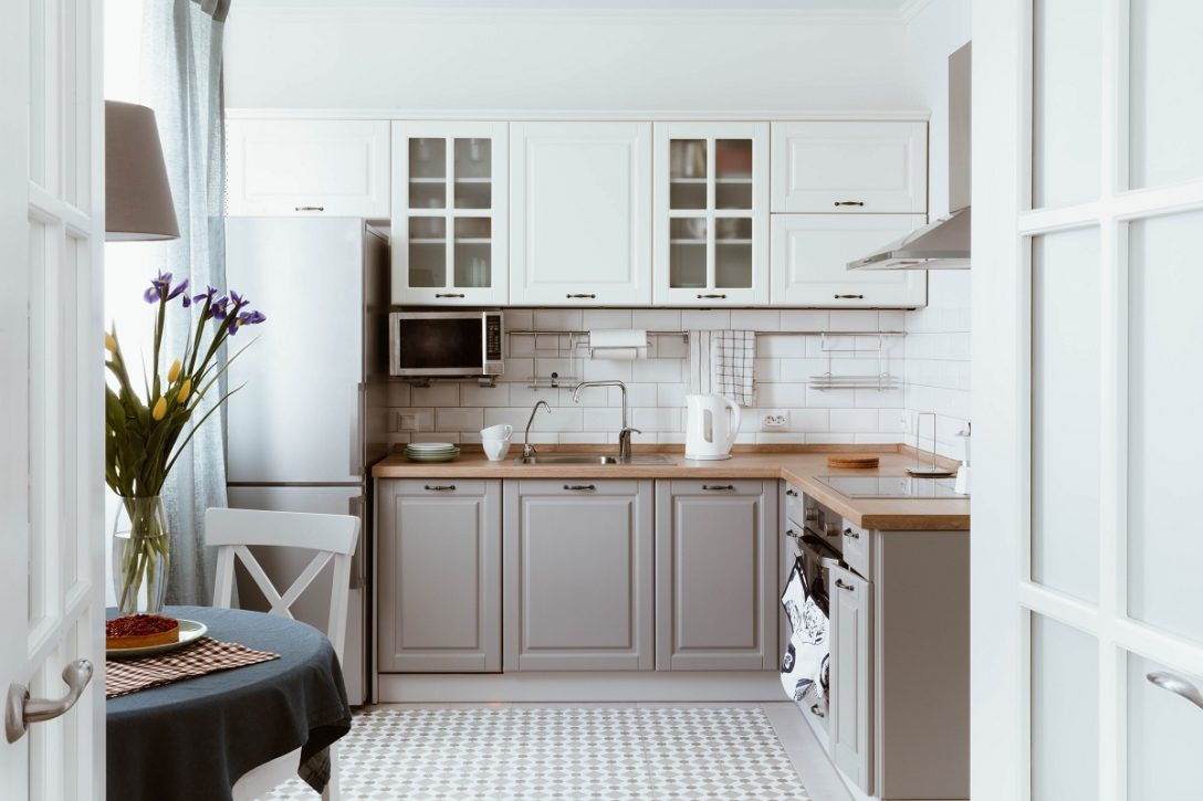 Large Size of Scandinavian Interior Design. White Grey Kitchen Room Organization Küche Landhausküche Grau