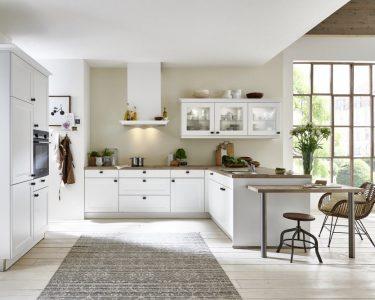 Landhausküche Weiß Küche Windsor Lack   Weiss
