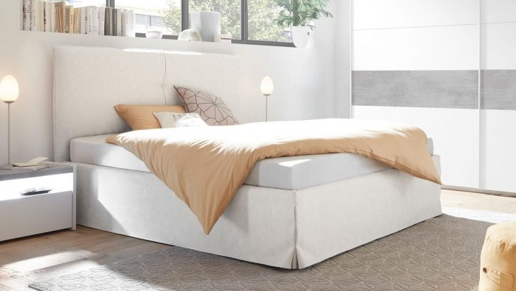Medium Size of Weißes Schlafzimmer Polsterbett Amalti Bett In Wei 180x200 Landhausstil Rauch Deckenleuchte Massivholz Set Deckenleuchten Led Nolte Landhaus Stehlampe Schlafzimmer Weißes Schlafzimmer