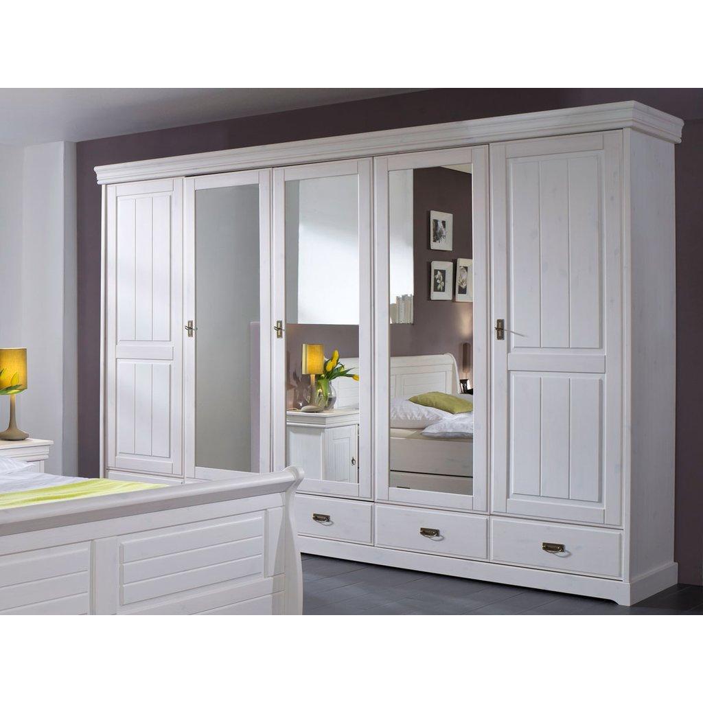 Full Size of Schlafzimmerset Melina 4 Teilig Kiefer Massiv Wei Schlafzimmer Mit überbau Set Weiß Sessel Kommoden Stuhl Schimmel Im Esstisch Oval Matratze Und Lattenrost Schlafzimmer Schlafzimmer Set Weiß