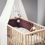 Leander Linea Babybett Aus Eichenholz 60x120 Hhenverstellbar 140 Bett Nussbaum 180x200 Günstig Betten Kaufen Modernes 200x220 190x90 Paletten Mit Aufbewahrung Bett Leander Bett