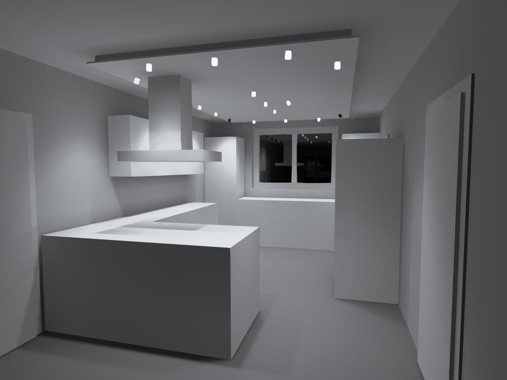 Full Size of Led Panel Deckenleuchte Küche Küche Mit Led Panel Led Panel Für Küche Beleuchtung Küche Led Panel Küche Led Panel Küche