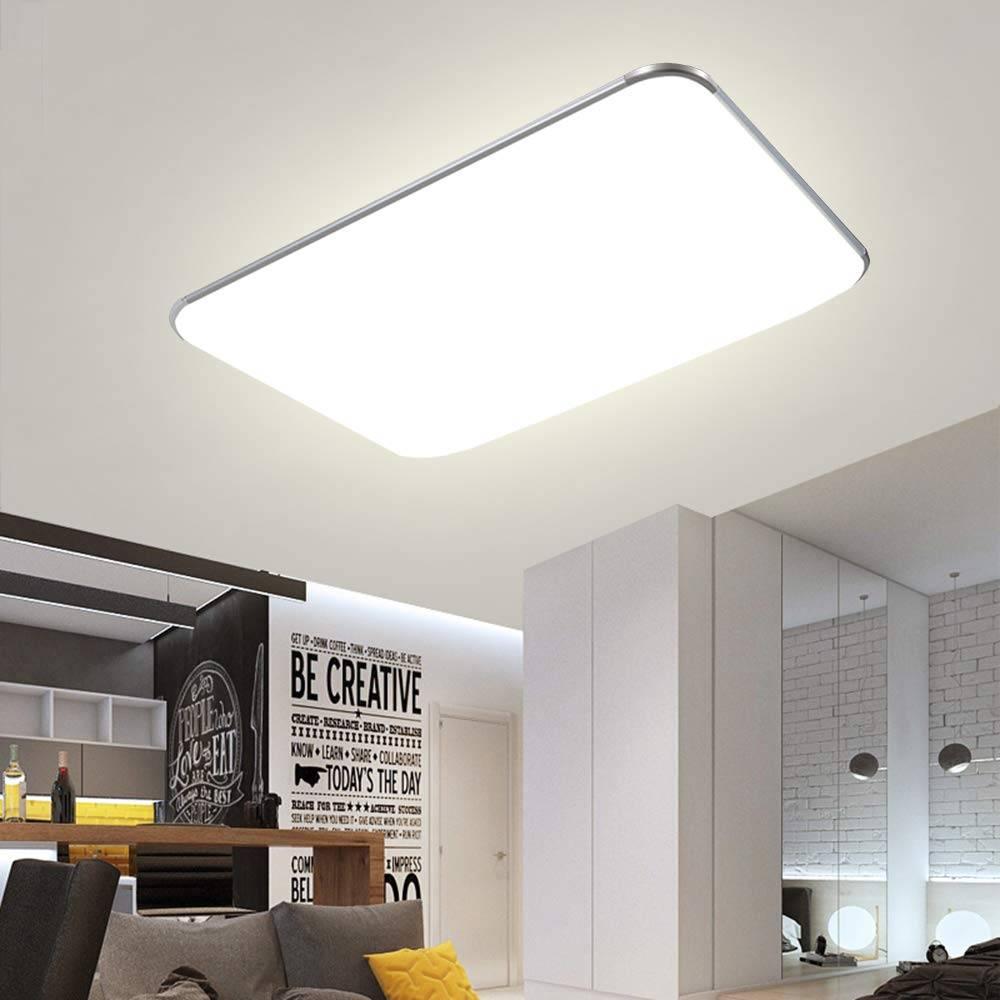 Full Size of Leuchten Fuumlr Energieklasse A Miwooho 100w Led Wohnzimmer Deckenleuchten Lampe Big Sofa Leder Deckenstrahler Deckenlampen Deckenleuchte Beleuchtung Bad Wohnzimmer Led Deckenleuchte Wohnzimmer