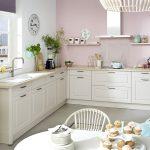 Weiße Küche Küche Weie Kche Mit Holzarbeitsplatte Fliesenspiegel Küche Selber Machen Vorratsschrank Single Ohne Oberschränke Edelstahlküche Wasserhahn Wandanschluss Tapete