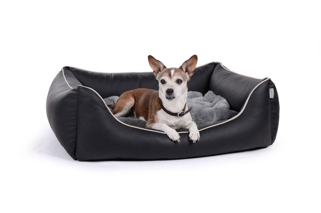 Large Size of Hunde Bett Hundebettenmanufaktur Hundebett Flocke 125 Cm Xxl Wolke Holz Aus Schmutzresistentem Kunstleder Worldcollection King Size 220 X 120x200 Mit Matratze Bett Hunde Bett