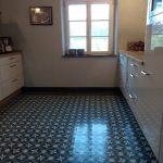 Bodenbeläge Küche Küche Bodenbeläge Küche Zementfliesen In Der Kche 2020 Mosico Singleküche Mit Kühlschrank Bodenbelag Industrial Sockelblende Outdoor Edelstahl Gebrauchte