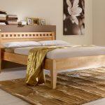 Betten.de Bett Massivholzbett Aus Naturfarbener Buche Oder Kernbuche Wallis