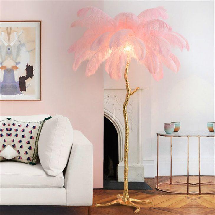 Medium Size of Nordic Strauen Feder Wohnzimmer Boden Lampe Stand Schlafzimmer Komplett Massivholz Komplette Mit Lattenrost Und Matratze Wandbilder Deckenlampen Deckenlampe Schlafzimmer Lampen Schlafzimmer