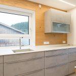 Küche Betonoptik Küche Küche Betonoptik Kche In Beton Kombiniert Mit Holz Laserer Tischlerei Pendeltür Salamander Ohne Oberschränke Kräutertopf U Form Aufbewahrungssystem