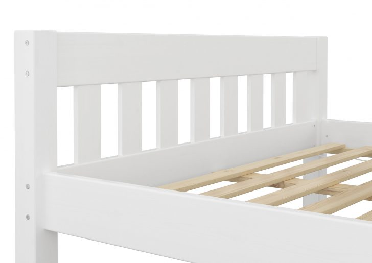 Medium Size of Holz Bett Bettgestell Ohne Auflagen Wei Kiefer Massiv 140x200 Selber Bauen Betten 180x200 Französische Jabo Mit Gästebett 120x200 Tojo überlänge Massivholz Bett Weißes Bett 140x200