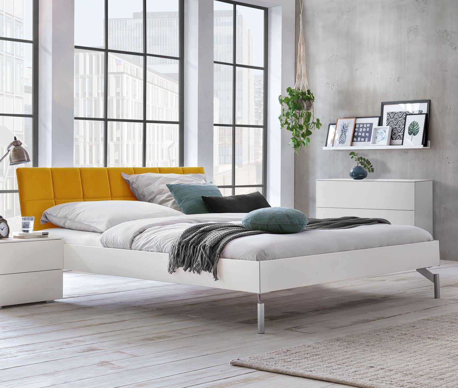 Full Size of Bett Modern Design Italienisches Puristisch Stabiles Einzel Und Doppelbett In Wei Mit Samt Kopfteil Akuma Schubladen 160x200 Wickelbrett Für Niedrig Podest Bett Bett Modern Design