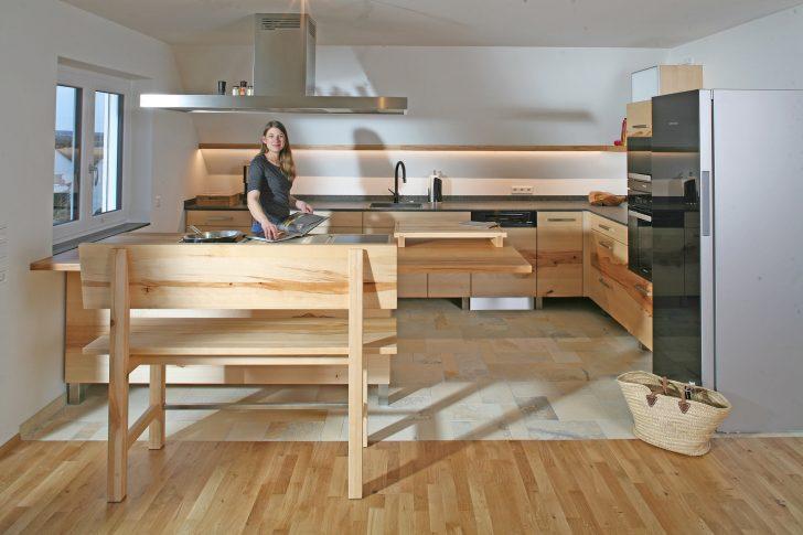 Medium Size of Massivholzküche Erle Massivholzküchen Stuttgart Massivholzküche Landhausstil Massivholz Küche Vom Tischler Küche Massivholzküche
