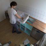 Küche Bauen Diy Kche Selbst Gebaut Youtube Betonoptik Auf Raten Essplatz Schwingtür Müllschrank Industrie Bett Selber 140x200 Segmüller Waschbecken Küche Küche Bauen