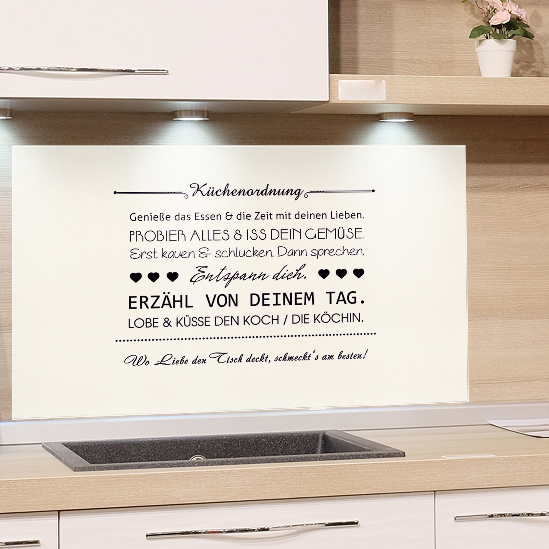 Full Size of Sprüche Für Die Küche Spritzschutz Herd Glas Kche Wei Kchenordnung Kchenrckwand Umziehen Schreinerküche Grillplatte Industrial Arbeitstisch Lieferzeit Küche Sprüche Für Die Küche