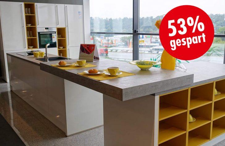 Medium Size of Inselküche Abverkauf Musterkche I Glo A Inselkche Mit Siemens Gerten Inkl Bad Küche Inselküche Abverkauf