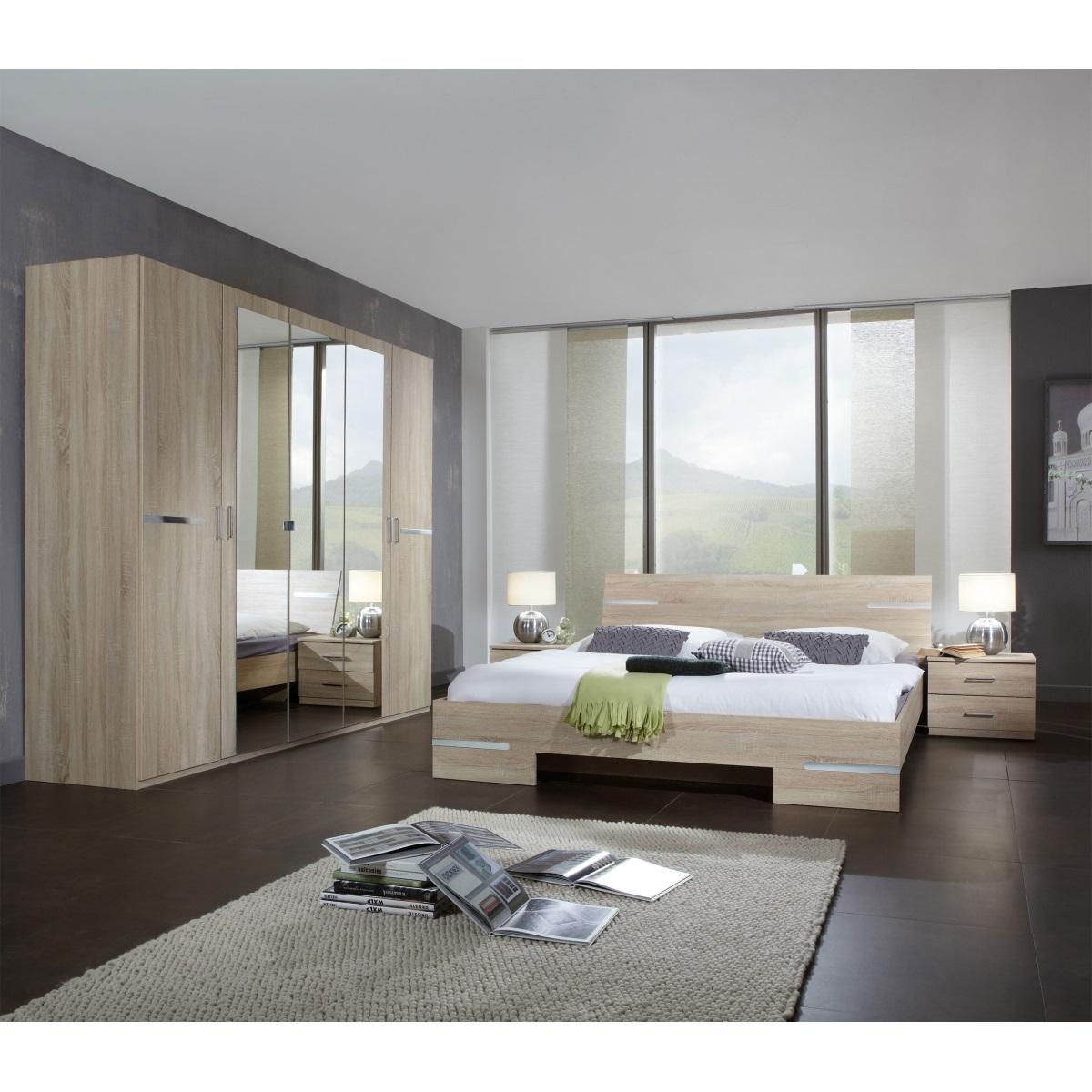 Full Size of Schlafzimmer Set Anna Eiche Sgerau Nachbildung Ca 180 200 Cm Nolte Deckenlampe Klimagerät Für Weißes Komplette Günstige Deckenleuchte Modern Luxus Gardinen Schlafzimmer Schlafzimmer Set