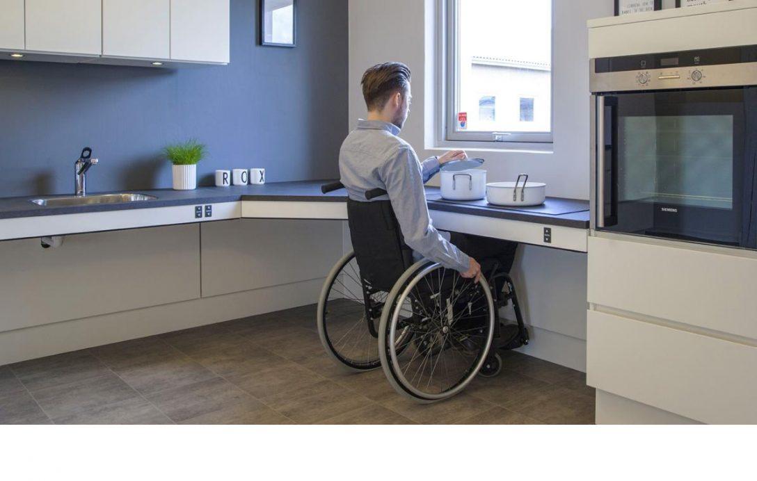 Large Size of Behindertengerechte Küche Bodenbelag Grillplatte Mischbatterie Bauen Ebay Günstig Mit Elektrogeräten Vollholzküche Fliesen Für Handtuchhalter Mobile Küche Behindertengerechte Küche