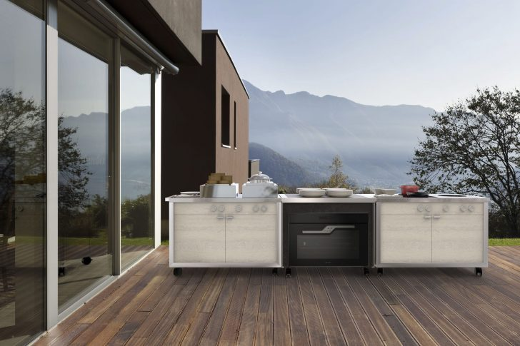 Medium Size of Mobile Kitchen / Contemporary / Stainless Steel / Commercial Küche Mobile Küche