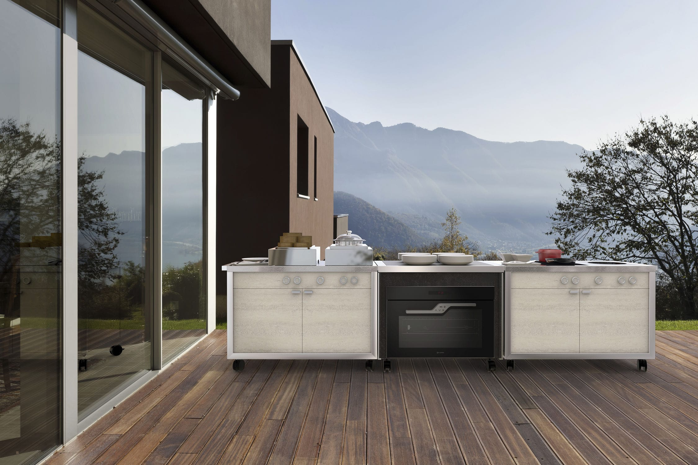 Full Size of Mobile Kitchen / Contemporary / Stainless Steel / Commercial Küche Mobile Küche