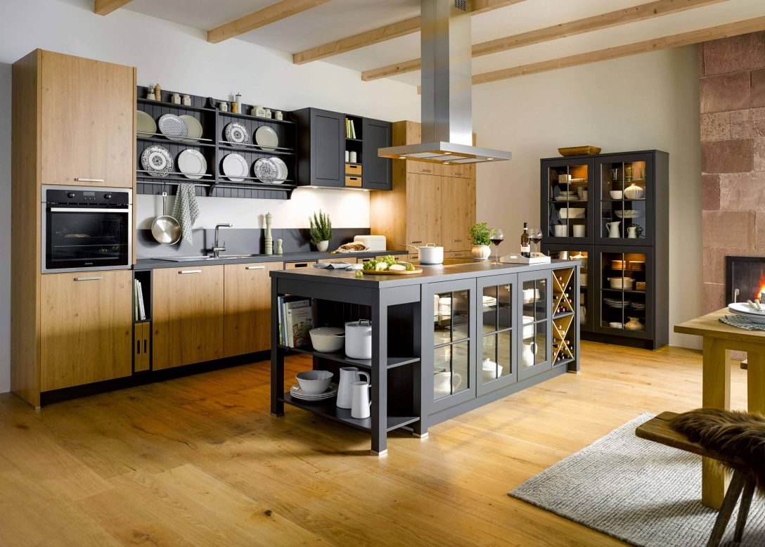 Moderne Vintage Kuche Hannover Rezepte Holz Landhauskuche Weiss