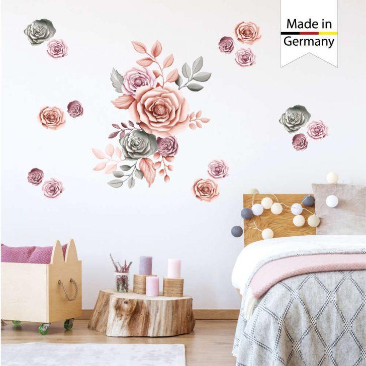Medium Size of Wandtattoos Schlafzimmer Wandtattoo Rosen Blumen Wandsticker Wanddeko Günstige Weißes Led Deckenleuchte Deckenleuchten Komplett Günstig Klimagerät Für Schlafzimmer Wandtattoos Schlafzimmer