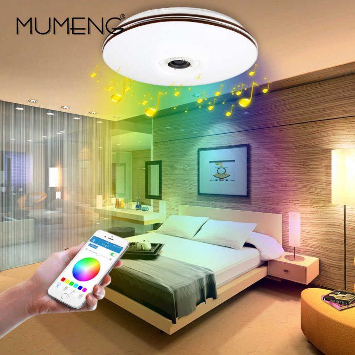 Medium Size of Mumeng Led Rgb Wohnzimmer Luminaria 32w Bluetooth Lautsprecher Glanz Musik Party Lampe Acryl Schlafzimmer Leuchte Sofa Lampen Bad Wandbild Relaxliege Gardinen Wohnzimmer Led Deckenleuchte Wohnzimmer
