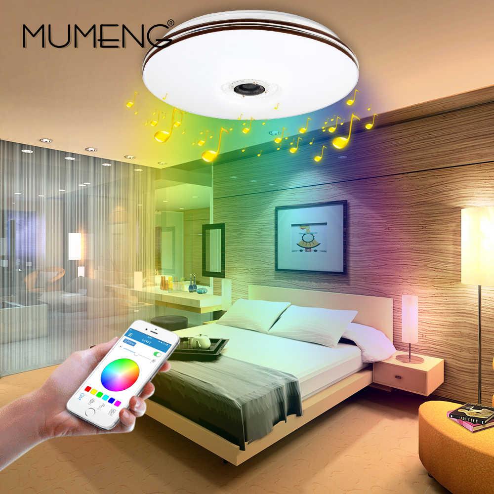 Full Size of Mumeng Led Rgb Wohnzimmer Luminaria 32w Bluetooth Lautsprecher Glanz Musik Party Lampe Acryl Schlafzimmer Leuchte Sofa Lampen Bad Wandbild Relaxliege Gardinen Wohnzimmer Led Deckenleuchte Wohnzimmer
