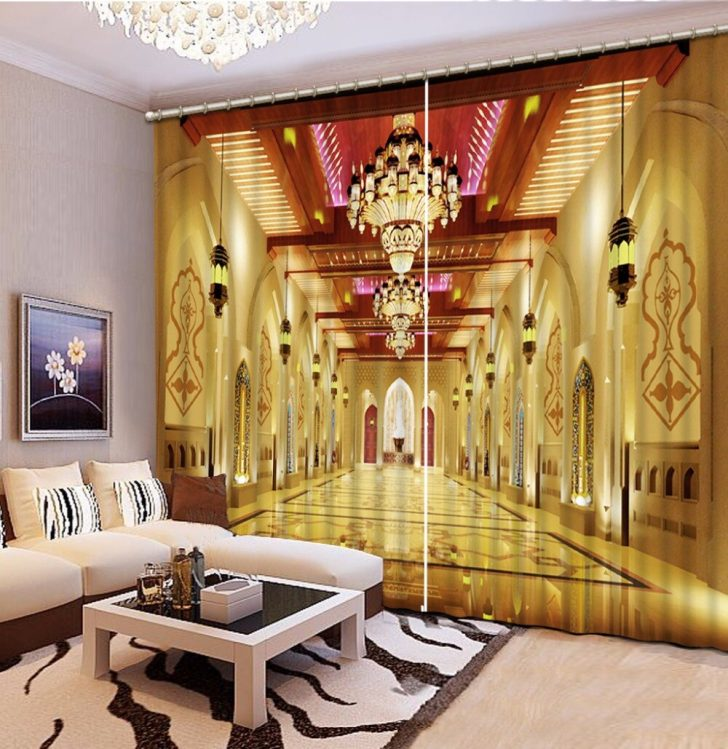 Medium Size of Luxus Schlafzimmer Vorhang Europischen Palast Foto Blackout Vorhnge Fr Komplett Massivholz Rauch Landhausstil Lampe Weiß Set Mit überbau Schimmel Im Schlafzimmer Luxus Schlafzimmer