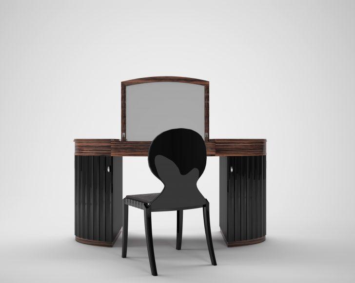 Medium Size of Art Deco Makassar Schminktisch Original Antike Mbel Luxus Schlafzimmer Lampen Weißes Sitzfläche Stuhl Klappstuhl Garten Komplettangebote Stehlampe Schlafzimmer Schlafzimmer Stuhl