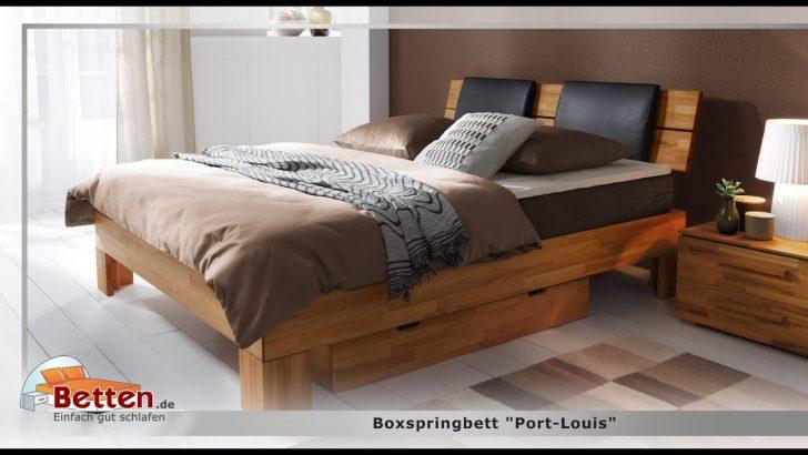 Medium Size of Boxspringbett Port Louis Youtube Bett Betten.de