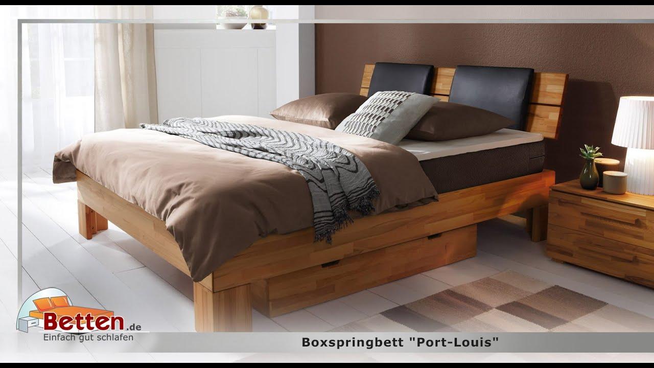 Full Size of Boxspringbett Port Louis Youtube Bett Betten.de
