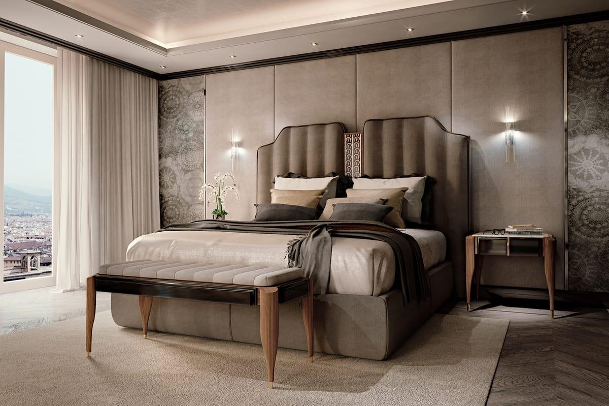 Full Size of Luxusbett Mit Gepolstertem Kopfteil Idfdesign Bett Weiß 90x200 Metall Prinzessin 160x200 Amazon Betten Weiße Matratze Und Lattenrost Kaufen Günstig Bonprix Bett Luxus Bett
