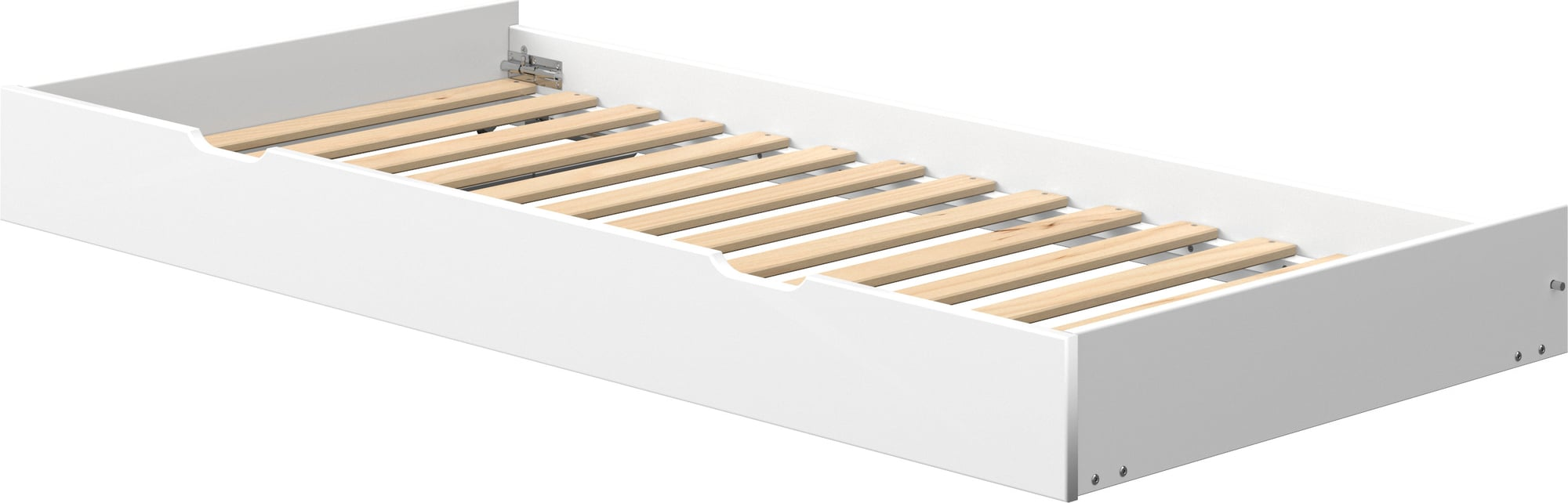 Full Size of Bett Mit Ausziehbett Flexa White Interismo Onlineshop Tojo Holz L Küche Kochinsel Hoch Bettkasten 140x200 Schlafzimmer Komplett Lattenrost Und Matratze Bett Bett Mit Ausziehbett