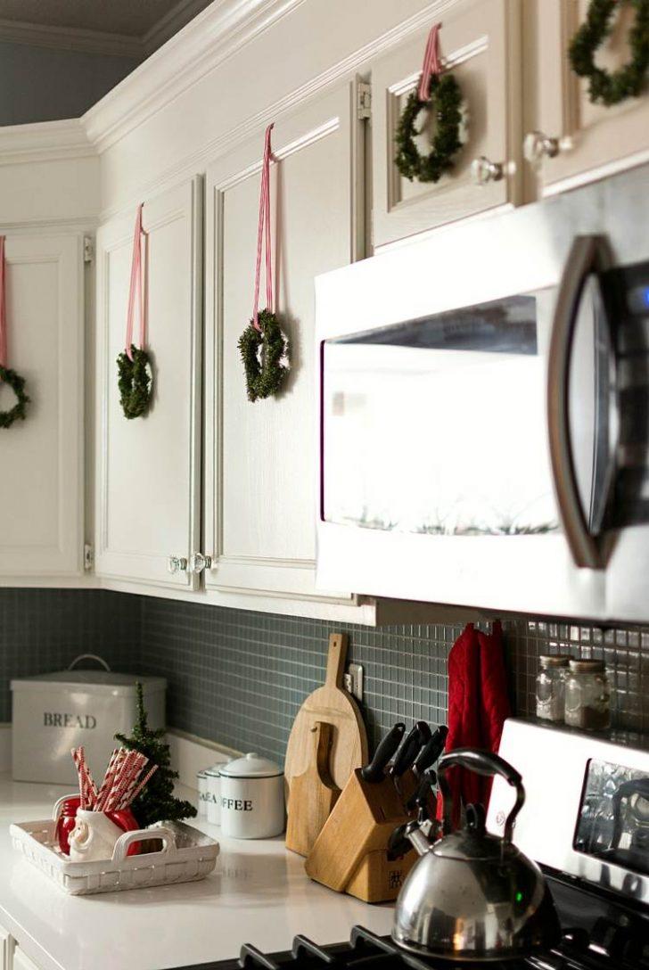 Medium Size of Deko Für Küche Sie Mchten Kche Weihnachtlich Dekorieren Hier Ein Paar Landhausküche Miniküche Einbauküche Günstig Stengel Wandfliesen Holz Weiß Küche Deko Für Küche