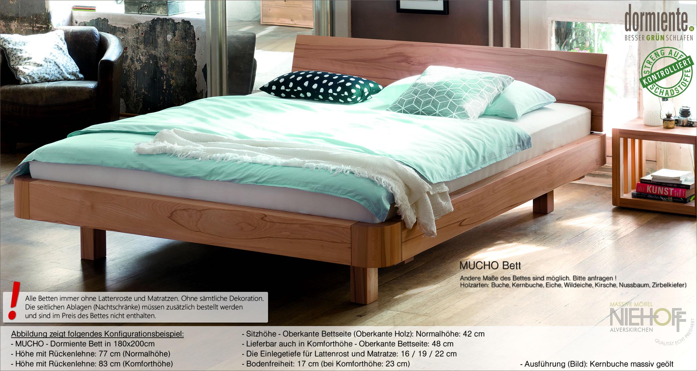 Full Size of Betten Massivholz Mucho Bett Von Dormiente Stabiles Doppelbett Musterring Ebay Mannheim Für Teenager 120x200 Mit Schubladen Schlafzimmer Komplett Ausgefallene Bett Betten Massivholz
