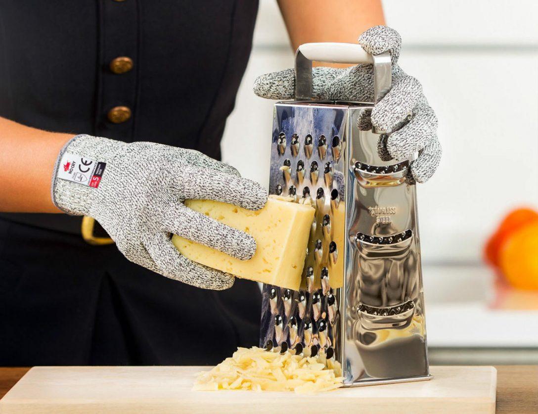 Large Size of Nocry Schnittfeste Handschuhe Lebensmittelechter Level 5 Schutz Betonoptik Küche Holz Weiß Einlegeböden Stehhilfe Schwingtür Outdoor Kaufen Wandfliesen Küche Schnittschutzhandschuhe Küche