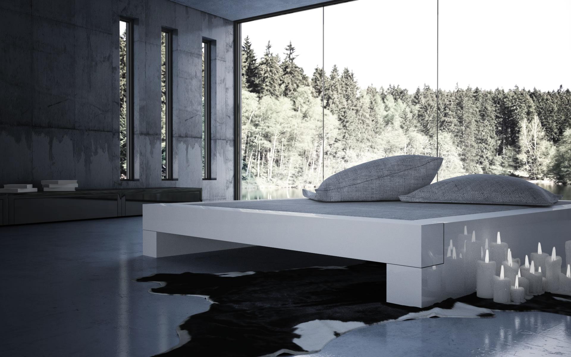 Full Size of Bett Modern Design Italienisches Puristisch Somnium Minimalistisches Von Bettwäsche Sprüche 160x200 Komforthöhe 120x200 Weiß Betten Mit Schubladen Bett Bett Modern Design
