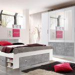 Schlafzimmer Stefan Bo5 Bett Schrank Wei Beton 180x200 Küche Jalousieschrank Bestes 90x200 Weiß Ausklappbares Miniküche Mit Kühlschrank Betten Matratze Und Bett Bett Schrank