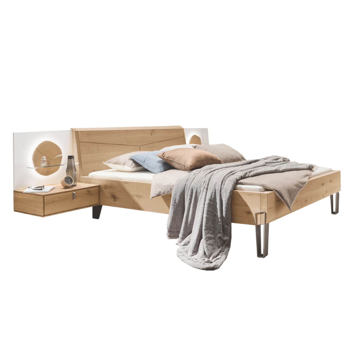 Full Size of Bett Holz Thielemeyer Meta Bettanlage Mit Massivholz In Einem Sgeschnitt Design 180x200 Komplett Lattenrost Und Matratze Clinique Even Better Hunde Ruf Betten Bett Bett Holz