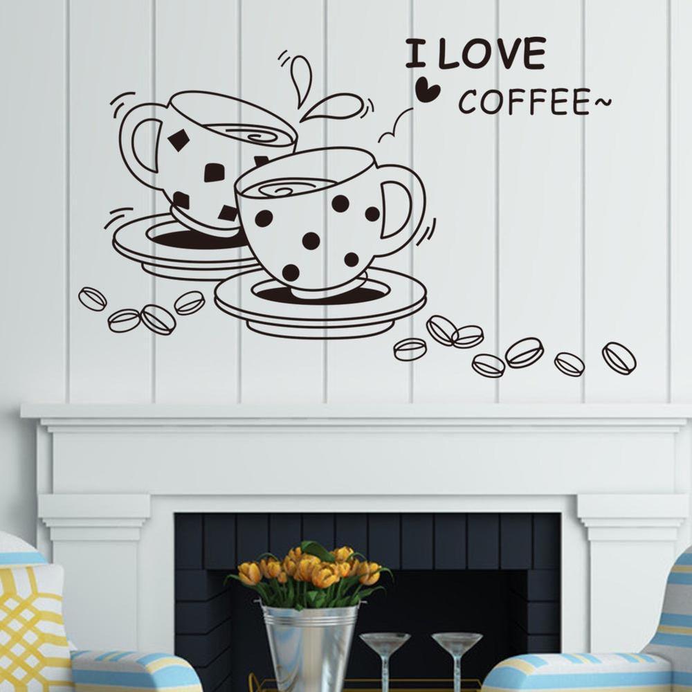 Full Size of Wandtattoo Küche Ich Liebe Kaffee Wand Aufkleber Removable Schne Billige Fliesenspiegel Erweitern L Mit Elektrogeräten Bauen Wohnzimmer Wasserhahn Für Küche Wandtattoo Küche